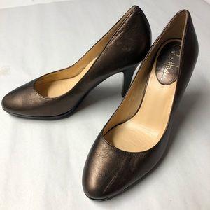 Cole Haan Bronze Metallic Copper Nike Air Heels